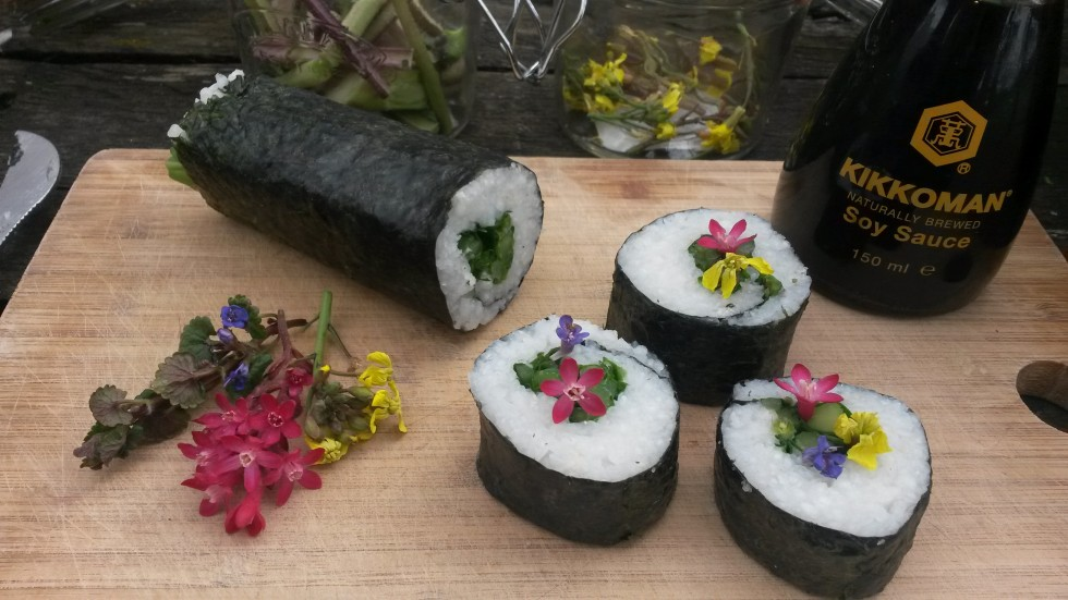 Veggie wild sushi