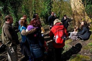 An edulis spring foraging course